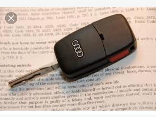 LOST set of audi keys