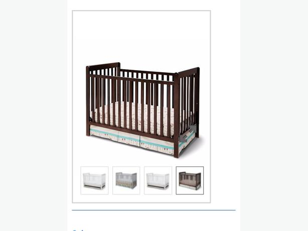 Brand New Delta 3 in 1 Crib