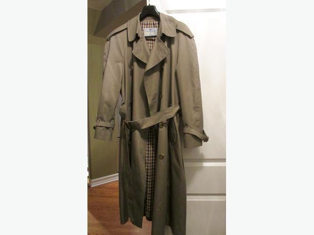 Men's Trench Coat, Aquascutum