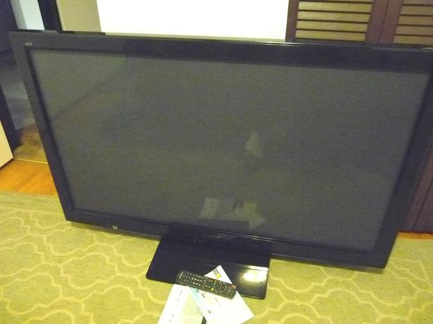 "Panasonic 50"" Plasma tv, mint, low hours"
