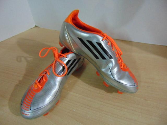 competitive price 8787b e003c Soccer Shoes Cleats Children  39 s Size 4.5 Adidas F50 Grey Orange Victoria  City, Victoria