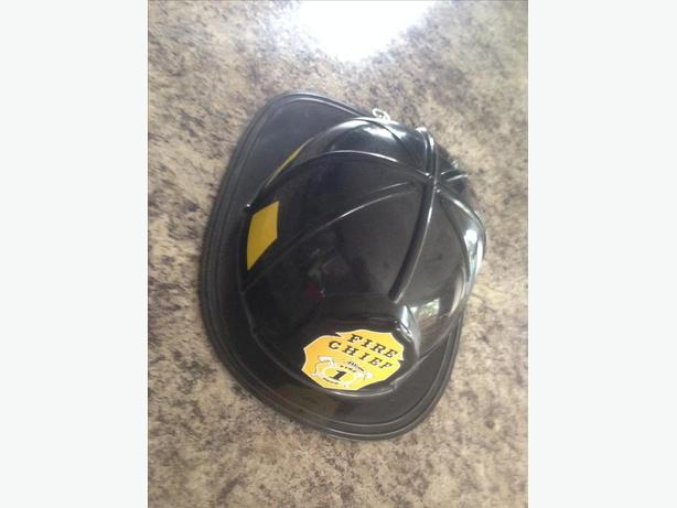 Adult Halloween Fire Chief Fighter Hat