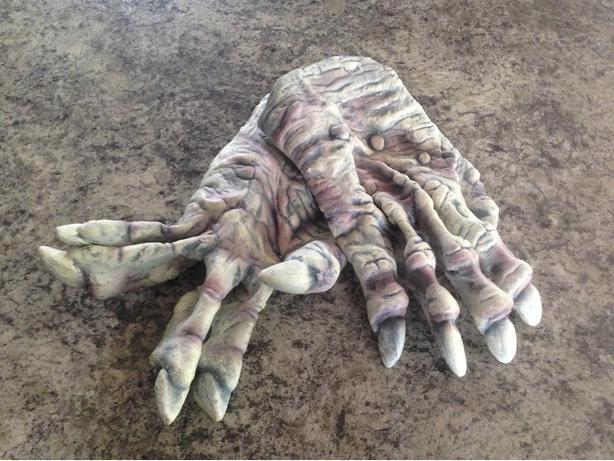 New Halloween Costume Adult Rubber Claw Gloves