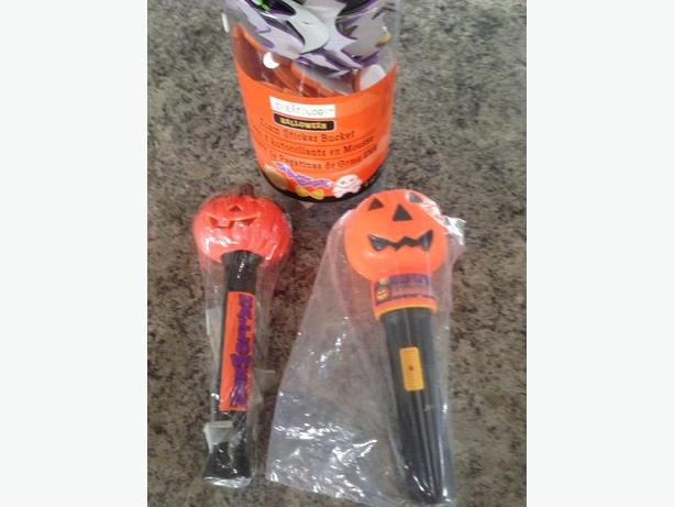 Halloween Decorations, Foam stick-on cut outs, Pez, Mummy....