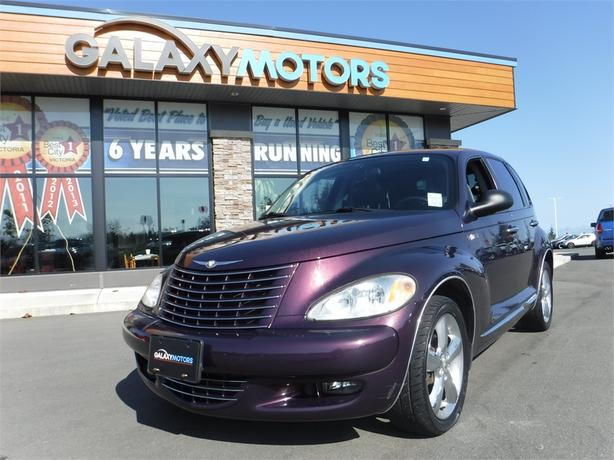 2004 Chrysler PT Cruiser Turbo - Leather Interior, Manual 5 Speed