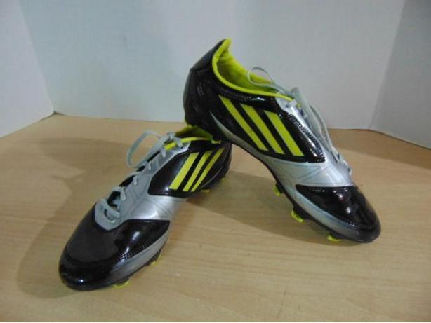 new concept 06739 2a733 Soccer Shoes Cleats Men s Size 7.5 Adidas F50 Grey Yellow
