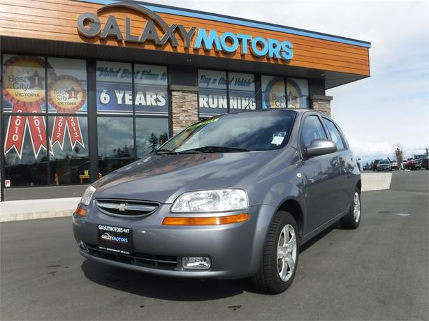 2008 Chevrolet Aveo LS - 5spd Manual, Island Only