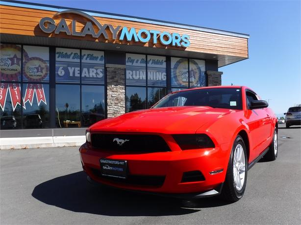 2012 Ford Mustang V6 Coupe - Bluetooth, Heated Front Seats