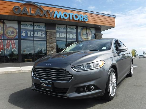 2014 Ford Fusion SE - Leather, AWD, Bluetooth, BC Only