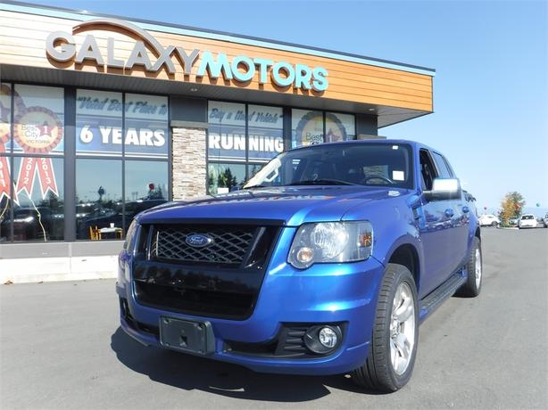2010 Ford Explorer Sport Trac Adrenaline - AWD, Leather Int, Alloy Wheels