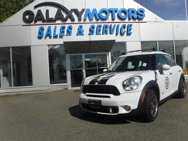 2012 Mini Cooper Countryman S - Leather, AWD, Turbo