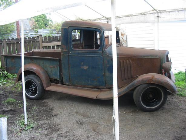 1935 chev truck