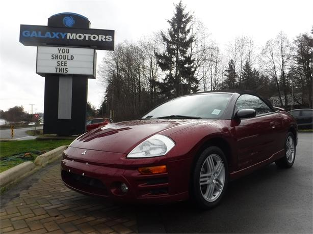 2005 Mitsubishi Eclipse GT Convertible - 5spd Manual, Alloy