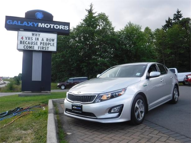 2014 Kia Optima Hybrid LX - Hybrid, Eco-Mode, Bluetooth, A/C