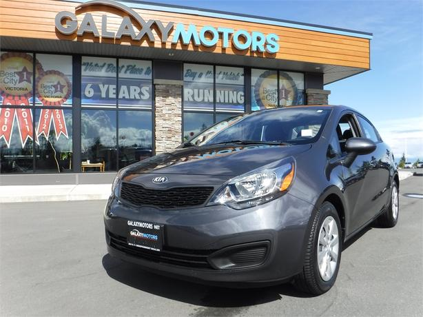 2013 Kia Rio LX - Satellite Radio, Accident Free, 6 Spd Manual