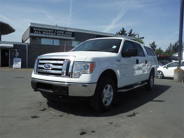 2012 Ford F-150 XLT Crew 3.5L V6 Short Box - 4WD, leather