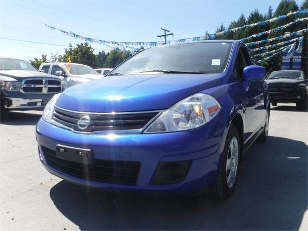 2012 Nissan Versa S - Heated Front Seats, BC Only, AC