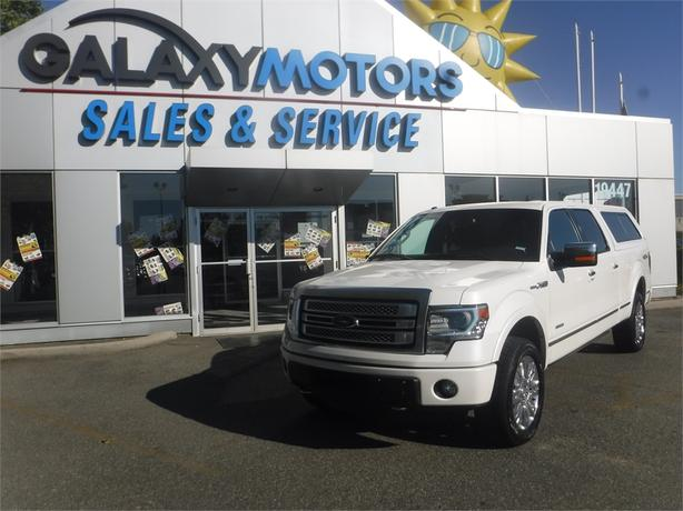 2014 Ford F-150 Platinum Supercrew 3.5L V6 Short Box - 4WD