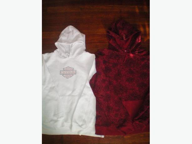 2 Womans size XL Harley Davidson hoodies