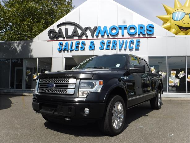 2013 Ford F-150 Lariat Supercrew 3.5L V6 Short Box - 4WD