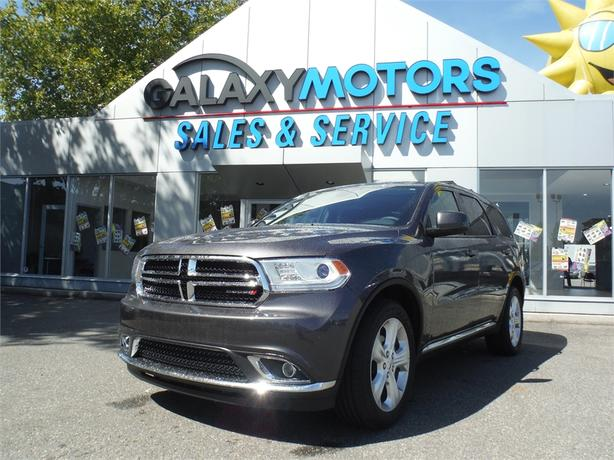 2015 Dodge Durango SXT - 7 Passenger, AWD, Bluetooth, Alloy