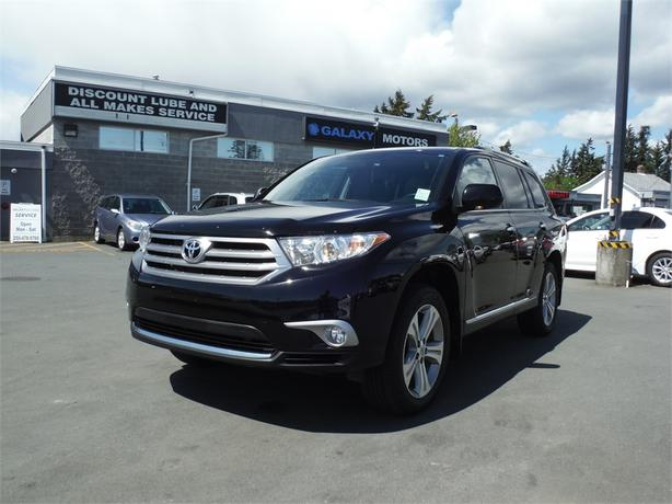 2013 Toyota Highlander Limited - 7 Passenger, leather, Bluetooth