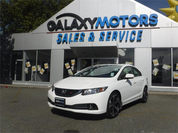 2015 Honda Civic SI - 5spd Manual, Backup Camera, Alloy