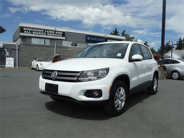 2014 Volkswagen Tiguan Comfortline - AWD, Bluetooth, BC Only