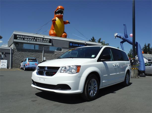 2015 Dodge Grand Caravan SXT - Bluetooth, Backup Camera, Alloy