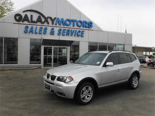 2006 BMW X3 3.0I X-Drive  - Leather, Power Moonroof