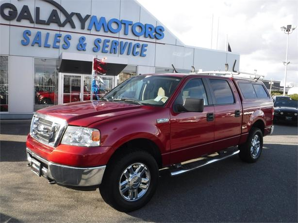2008 Ford F-150 XLT/XTR Supercrew 5.4L V8 Short Box - 4WD