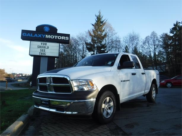 2012 Ram 1500 SXT Quad 4.7L V8 Regular Box - 4WD, Bluetooth