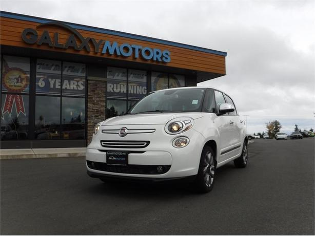 2015 FIAT 500L Lounge - Leather Int, Navigation, Alloy Wheels