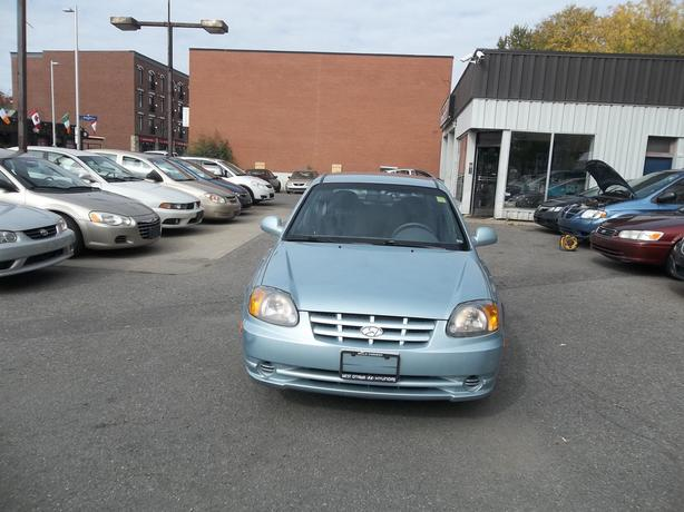 2005 Hyundai Accent Hatchback 109000 km safety and E test