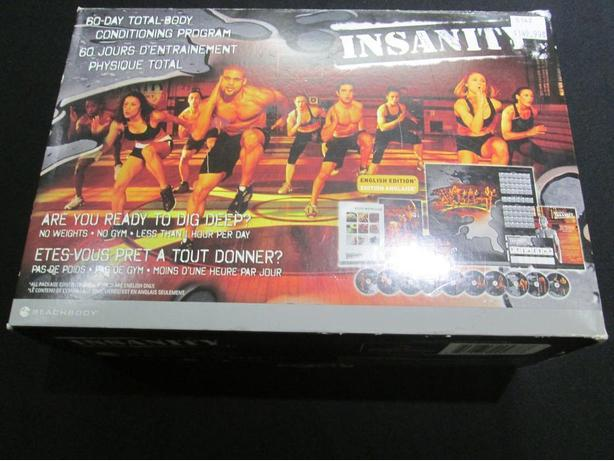INSANITY TRAINING PROGRAM