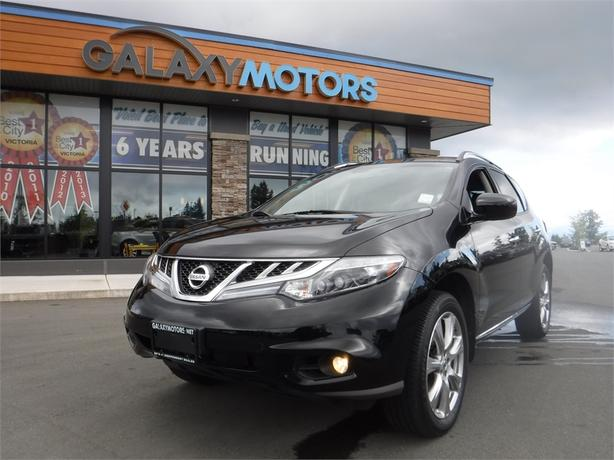2013 Nissan Murano PLATINUM - Leather Int, AWD, Navigation, Alloy Wheels