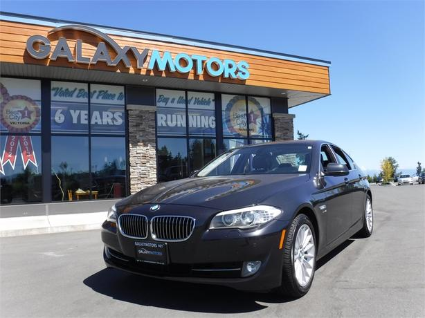 2012 BMW 5 SERIES 535I XDrive - AWD, Leather Int, Nav, Sport Mode