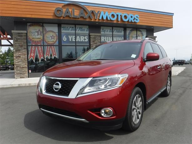 2015 Nissan Pathfinder S - Bluetooth, Keyless Entry, 4WD, Alloy Wheels