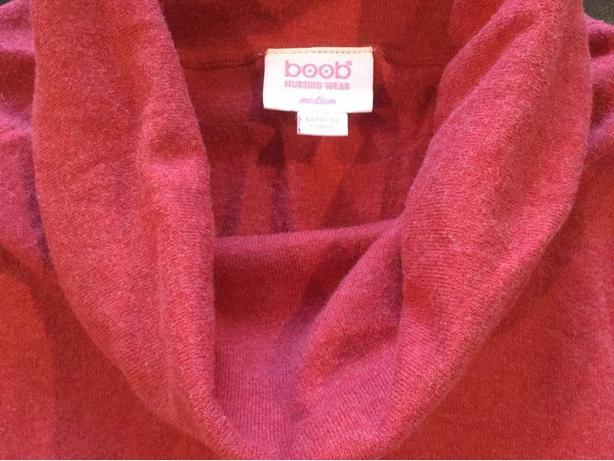 Boob Maternity/Nursing Cowl Neck Sweater