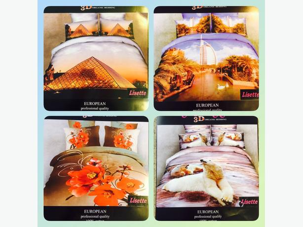 3D Bedding set 100% cutton