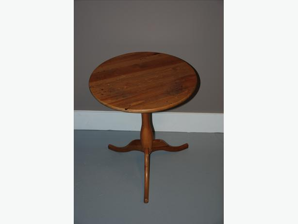 Small Wood Occasional Table For Sale