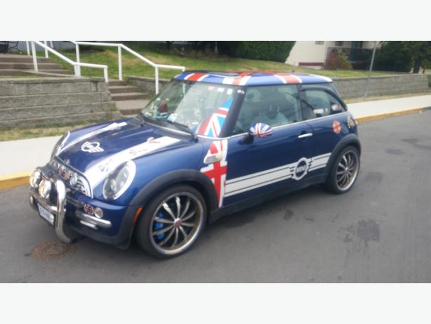 ONE OF A KIND 2003 MINI COOPER RALLY CAR/HAS MANY FANS/ AND OPTIONS