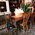 Custom 8ft Farmhouse Table Set