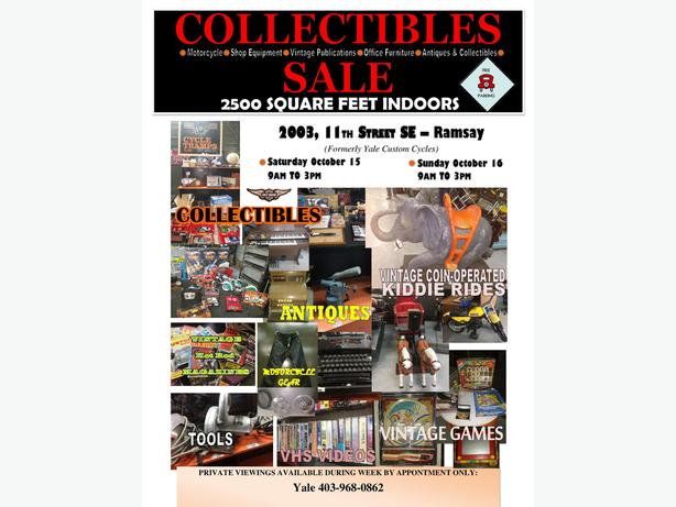 MASSIVE COLLECTIBLES SALE