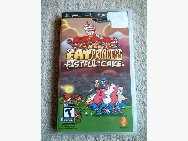 Fat Princess - Playstation Portable - Sony PSP