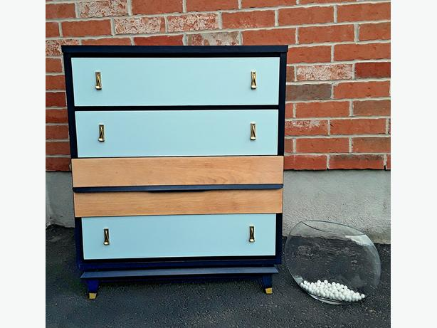 Restyled MID CENTURY   DRESSER – Free Delivery