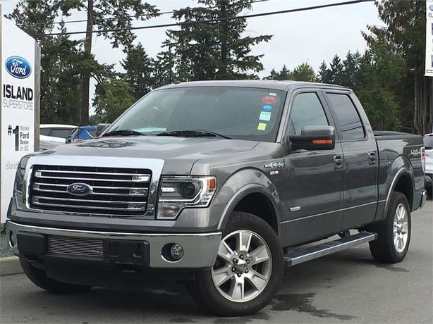 2013 Ford F-150 Lariat Ecoboost SuperCrew, Moonroof