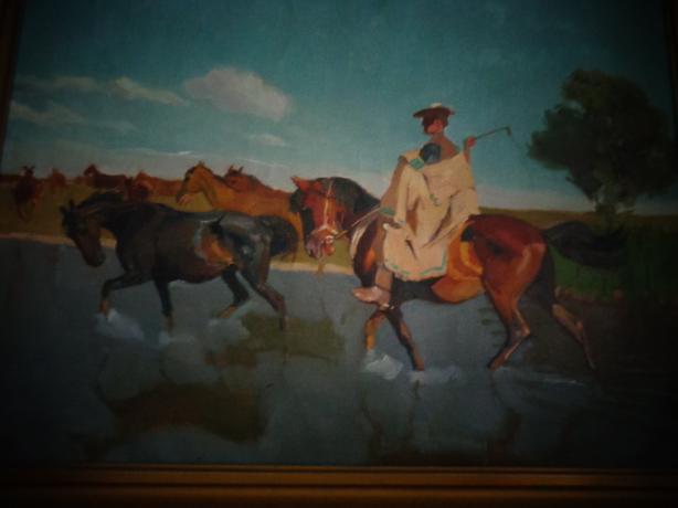 Various European and Canadian original art