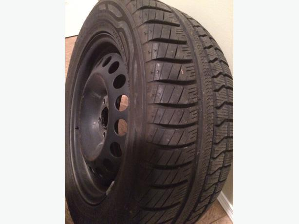 225 / 55 R 16 M&S winter tires and rims