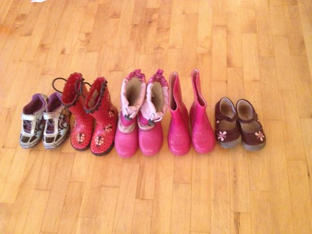 Girls Boots and Shoes Size 10